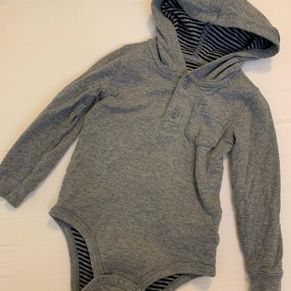 Hooded Oshkosh Toddler Sweater Onesie